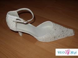 welon, buty ślubne