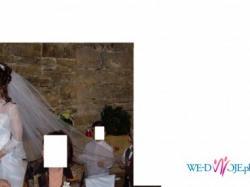 welon ślubny długi 170cm
