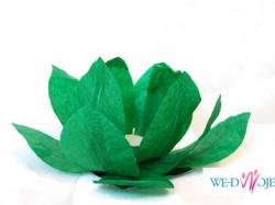 Wesele nad wodą? Dekoracja akwenów wodnych Lampiony pływające Kwiat Lotosu