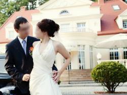Wiedeńska suknia ślubna dla szczupłej kobiety