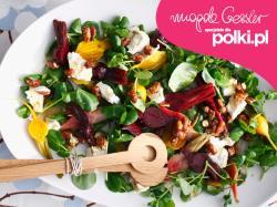 Wielkanocna sałata z botwinką Magdy Gessler