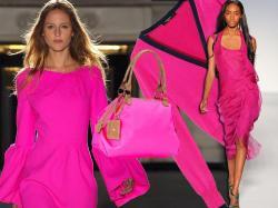 Wiosenna moda na różowy kolor - trend 2012