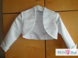witam,  mam do zaoferowania suknię ślubną, kolor biały, rozm. S (36), materiał: