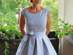 Wizytowa suknia damska Scarlett