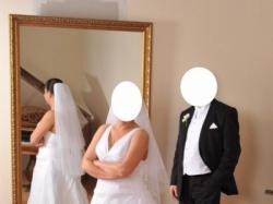 Włoska Suknia Ślubna firmy Annalisa