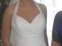 Włoska suknia ślubna firmy Lilea - kolekcja La Perle 2010 rok, model P 7022