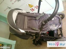 Wózek 3 w 1 polskiej firmy KAPS - Neo X3 + gratisy