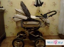 wózek 3w1 BEBECAR Sport, beżowo-czarny