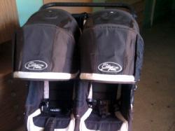 wózek BABY JOGGER CITY ELITE DOUBLE-dla bliźniąt lub dzieci z różnicą wieku