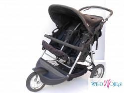 Wózek bliźniaczy dla bliźniąt Baby Care