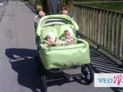 wózek bliźniaczy duo driver sprzedam
