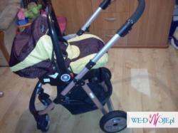 Wózek głęboki Coneco V4 +nosidełko