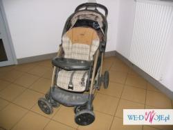 "wózek graco quattro deluxe + spacerówka ""parasolka"" GRATIS"