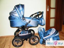 Wózek Mikrus Alu Srint+fotelik