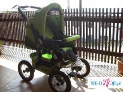 Wózek na Gwarancji Ideał+BUJACZEK FISHER PRICE!!!