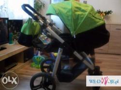 Wózek Nico bebetto plus 2 w 1 + gratis:-)