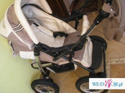 wózek wielofunkcyny +fotelik   stan idealny!