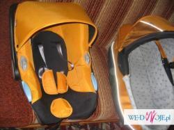 Wózek Xlander-A 2008 - spacerówka, gondola, fotelik