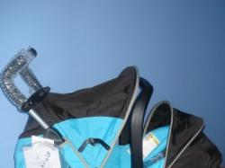 wózk spacerowy z możliwością montarzu fotelika od 0 do 15 kg