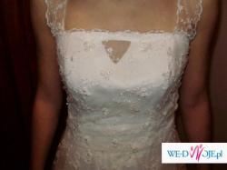 Wspaniała, a jednocześnie skromna suknia ślubna !!!