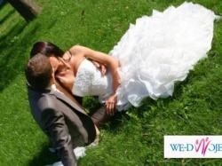 Wspaniała  Orginalna  Wyjątkowa Suknia ślubna