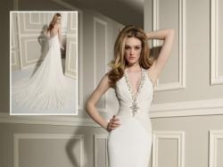 Wspaniała suknia ślubna(jedyna w swoim rodzaju)