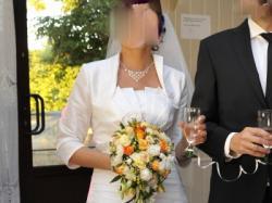 Wspaniała Suknia Ślubna - stan IDEALNY + Dodatki! Warto . Polecam:)