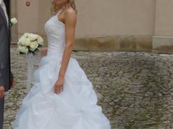 Wspaniała suknia ślubna za 880 zł