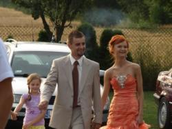 WSPANIAŁA SUKNIA WIECZOROWA wesele, studniówka, sylwester