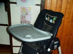 Wygodne i funkcjonalne krzesełko do karmienia dla dziecka