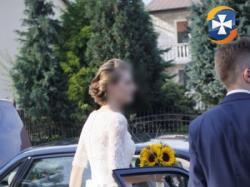Wyjątkowa Atłasowa Suknia Ślubna