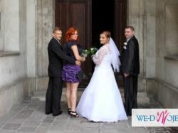 Wyjątkowa !  Biała suknia ślubna !!!