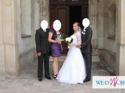 Wyjątkowa! Biała suknia ślubna!!!
