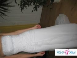 Wyjatkowa i elegancka suknia ślubna