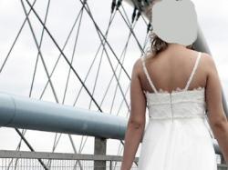 Wyjątkowa i jedyna w swoim rodzaju suknia ślubna Nabla
