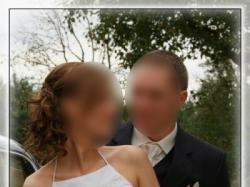 Wyjątkowa i oryginalna sukienka ślubna z salonu LISA FERRERA - rozm. 38
