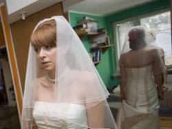 wyjątkowa i oryginalna suknia ślubna Oro Novias