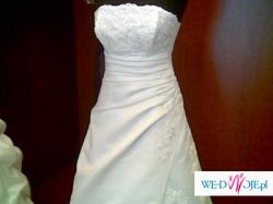 Wyjątkowa i szykowna suknia ślubna
