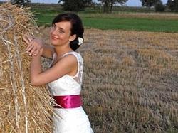 Wyjątkowa koronkowa suknia ślubna