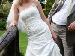 wyjątkowa, oryginalana suknia ślubna
