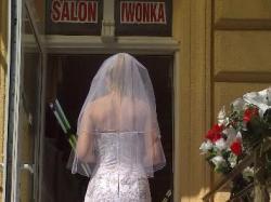 Wyjątkowa śliczna suknia ślubna z trenem+welon+ gratisy