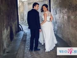 !!! Wyjątkowa sukienka ślubna !!!