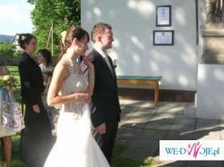 Wyjątkowa suknia!!! Emmi Mariage model serenada rozm. 36 ecru!