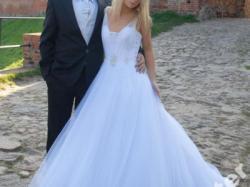 Wyjątkowa suknia Justin Aleksanader 8461 rozm. 36