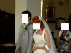 Wyjątkowa suknia  ślubna!!!!