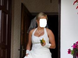 Wyjatkowa śuknia ślubna