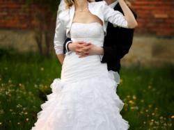 Wyjątkowa suknia ślubna Aqua.