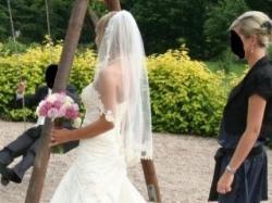 Wyjątkowa suknia ślubna BENGI(model rybka)/Benjamin Roberts 930