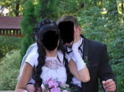 Wyjątkowa suknia ślubna + bolerko