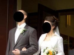 Wyjątkowa suknia ślubna dla wyjątkowej Panny Młodej ;)